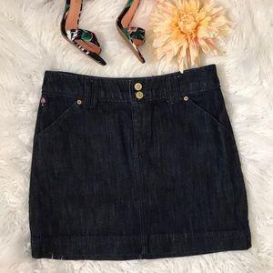 Lilly Pulitzer Palm Beach Fit Denim Skirt